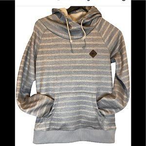 Burton Dryride Heron hoodie grey and white